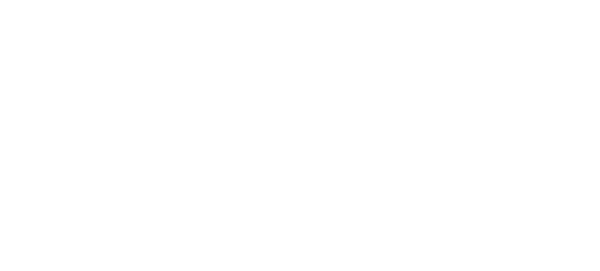 CDC Logo - White serif type with diagonal lines behind in a rectangle