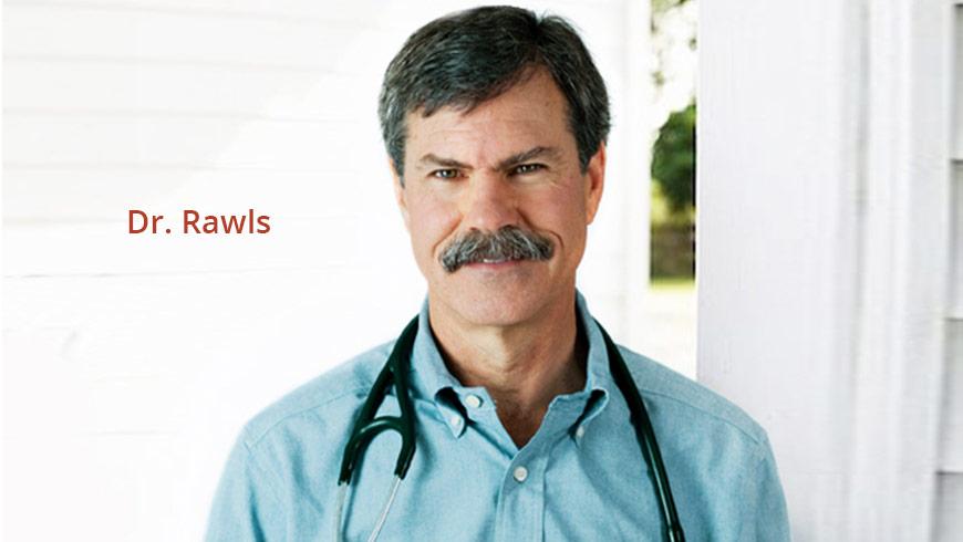 Headshot of Dr Rawls
